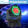 19*12.8W RGBW Osram Zoom LED Moving Head Light