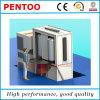 Cabine do revestimento do pó do esmalte para o calefator de água