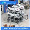 3 автомобиля в системе стоянкы автомобилей автомобиля ямы полуавтоматной