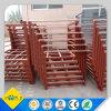 Cremalheiras de aço Stackable resistentes do armazenamento