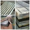 Galvanisiertes gewölbtes Roofiing Blatt-Wellen-Muster 0.125-2mm