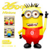 Ultimi servi Mascot (BMCT01) di Design Wholesale 3m High Popular Inflatable Yellow