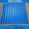 Placa de acero acanalada de acero galvanizada Z275g en China