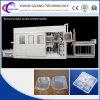 Plastikschnellimbiss-Kasten-Produkt-Typ Servovakuum, das Maschine bildet