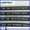 Tuyau en caoutchouc hydraulique SAE100 R2 de DN 5/16