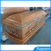 Solid di mogano Wood Funeral Casket e Coffin