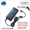 Il taccuino sostituisce l'adattatore per Asus Zenbook Ux21 Ux21e Ux31 Ux31e 19V 2.37A 45W