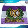 Los deportes señalan por medio de una bandera, indicador del club del balompié, bandera del anuncio (J-NF01F03033)