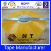 Cinta adhesiva del embalaje de la insignia de la compañía, cartón Taoe del lacre de BOPP