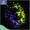 Luz solar de la cadena de la Navidad decorativa al aire libre grande colorida del LED