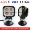 Vierkante 40W van Road LED Work Light Spot/Flood Beam 6000k
