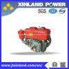 수평한 기계장치를 위한 공기에 의하여 냉각되는 4 치기 디젤 엔진 R176