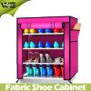Gabinete do organizador do armazenamento da sapata de Mordon da tela com muitas cores