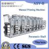 Tipo máquina de Shaftless do controle manual do asy-b de impressão do Rotogravure