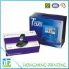 Caixa de empacotamento de dobramento impressa do telefone de pilha do cartão da cor cheia
