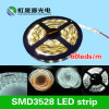 Alta tira flexible brillante de SMD3528 los 60LEDs/M los 4.8W/M LED
