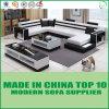 Кровать софы кожи комнаты европейского типа живущий