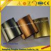 Profil en aluminium balayé d'extrusion personnalisé par constructeurs en aluminium de qualité