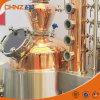 De vapor de la calefacción del cobre del alcohol de destilación de la torre de la vodka todavía del whisky equipo