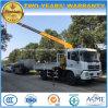 200kw 갱도지주 선적 기중기 6 톤 8 톤 기중기를 가진 10 톤 트럭