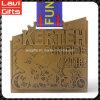 Ciclo personalizzato del trapezio del metallo che corre la medaglia di sport