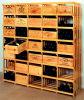 El rectángulo de regalo de madera de la botella de vino del pino solo y doble crea para requisitos particulares