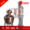Equipo industrial de la destilación, destilería