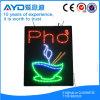 Muestra de Vietnam LED de la baja tensión del rectángulo de Hidly