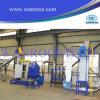 Завод по переработке вторичного сырья пластмассы отхода бутылки любимчика