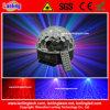 Lumières lasers en cristal de musique du DJ de disco de boule de RVB DEL