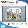 Protuberancia de aluminio de pulido de anodización de diverso color para la ventana