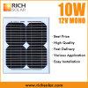 mono modulo solare monocristallino del comitato solare di 10W 12V 18V
