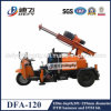 Drilling rápido Speed, Tratora Mounted Movable Rock Ground Drilling Rig com Impacting Bits