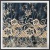 Cordón tejido Atar-Teñido del remache del algodón del cordón del bordado del remache de la flor del cordón del bordado