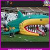 Túnel inflável do tubarão do esporte ao ar livre para a decoração da atividade do esporte