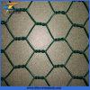 亜鉛メッキチキン六角形の金網コーテッドPVC