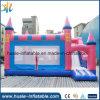 Kundenspezifisches aufblasbares rosafarbenes Schloss, federnd Schloss für Verkauf