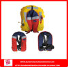 스테인리스 Steel Buckle 및 D-Ring Inflatable Safety Life Jacket
