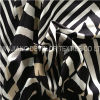 Blusa opaca impresa de las mujeres de la manera de la tela del satén (DT5027)