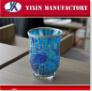 新しいデザイン一義的なトルコのハンドメイドのモザイク蝋燭ホールダー