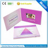 4.3inch écran LCD Brochure Video Greeting Card