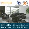 Sofá de la PU en los muebles de la sala de estar (A007)