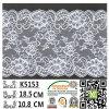 Шнурок K5153 нового простирания картины цветка типа плиты прибытия эластичный