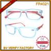 Plástico Transparente Fr4021 Matt Cuadrados marcos de lectura Gafas granel Compra de China