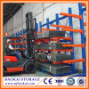 Industrial Steel Pipe Storage Racks, Warehouse Storage Frame Cantilever Racking