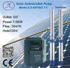 bomba solar centrífuga sumergible del acero inoxidable de 666L los 6in