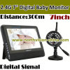 4CH Wireless DVR con 7 Inch Monitor, Uno Camera y Uno DVR (NC-890S-1)