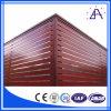 Paneles de la cerca Shanghai brillo Mejor Qualtiy de madera color aluminio