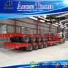 خطّ محور العجلة 100-150 أطنان منخفضة سرير ([لووبد]) شاحنة [سمي] مقطورة