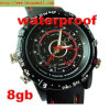 Spy Watch Hidden Waterproof Watch 4GB HD Video&Sound Watch Watch Recorder